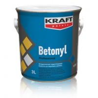 Αντιρρυπαντικό τσιμεντόχρωμα διαλύτου με ακρυλικές ρητίνες για εξωτερική χρήση Kraft Betonyl