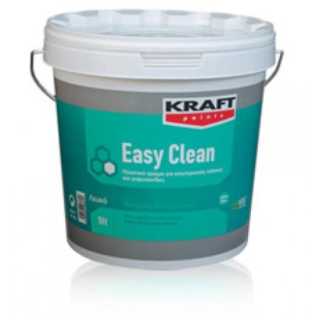 Πλαστικό χρώμα πολυτελείας με σατινέ φινίρισμα Kraft Easy Clean