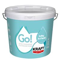 Ακρυλικό Αστάρι Για Εσωτερικές Και Εξωτερικες Επιφάνειες Kraft Go! Αστάρι Γυψοσανίδας