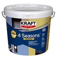 Ελαστομερές Μονωτικό Και Χρώμα Για Εξωτερικούς Χώρους Kraft 4 Seasons Elastic