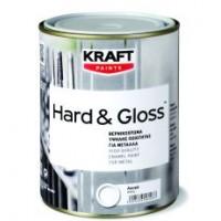 Βερνικόχρωμα Υψηλής Ποιότητας Για Μέταλλα Kraft Hard & Gloss