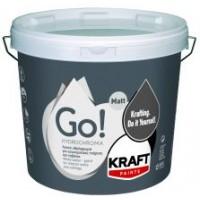 Υδρόχρωμα για εσωτερικούς τοίχους και ταβάνια Kraft Go! Hydrochroma