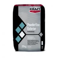 Τσιµεντοκονίαµα Σπατουλαρίσµατος Για Εξωτερική Χρήση. Kraft Powderfine Exterior