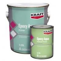Αντισκωριακό Εποξειδικό Αστάρι Νερού Δύο Συστατικών Kraft Aqua Antirust Primer