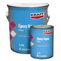 Εποξειδωτικό Χρώμα Νερού Δύο Συστατικών Kraft Epoxy Aqua Paint